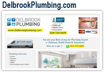 North Shore, Delbrook, Vancouver Plumbing Service
